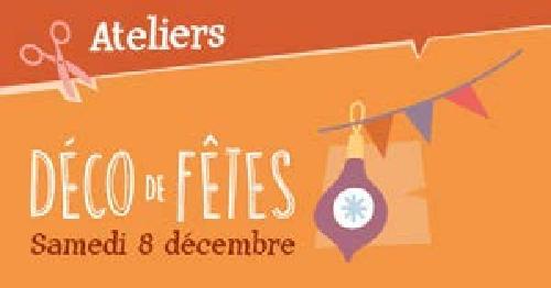 """Agenda ► Atelier """"Déco de Fêtes"""" (""""Noël au Musée 2018"""") – 08/12 à 14h30"""