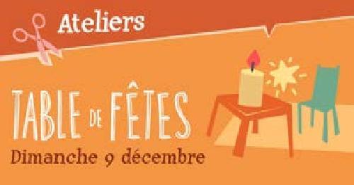 """Agenda ► Atelier """"Table de Fêtes"""" (""""Noël au Musée 2018"""") – Le 09/12 à 14h30"""