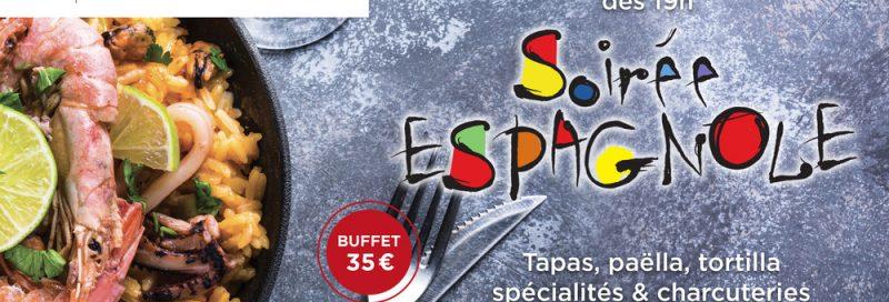 Agenda ► Soirée Espagnole
