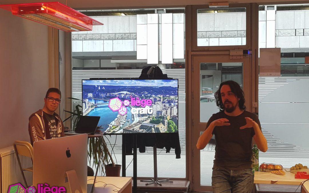 Venez construire la ville de Liège sur Minecraft
