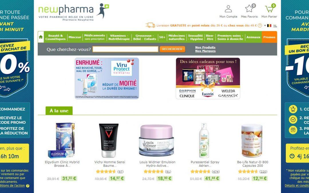 La pharmacie en ligne Newpharma affiche son excellente santé après 10 ans d'existence