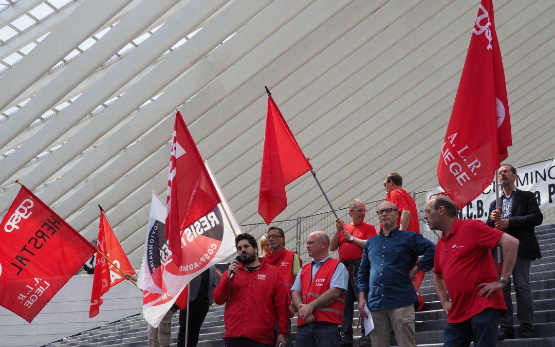 Grève ce vendredi à Liège