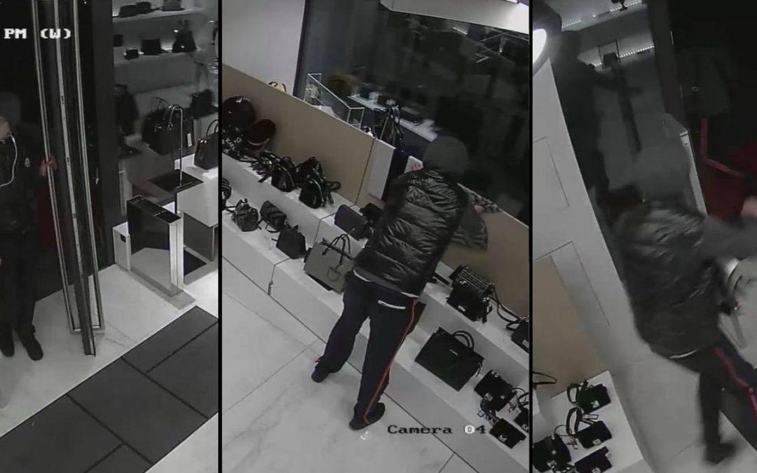 Des voleurs pris la main dans le sac