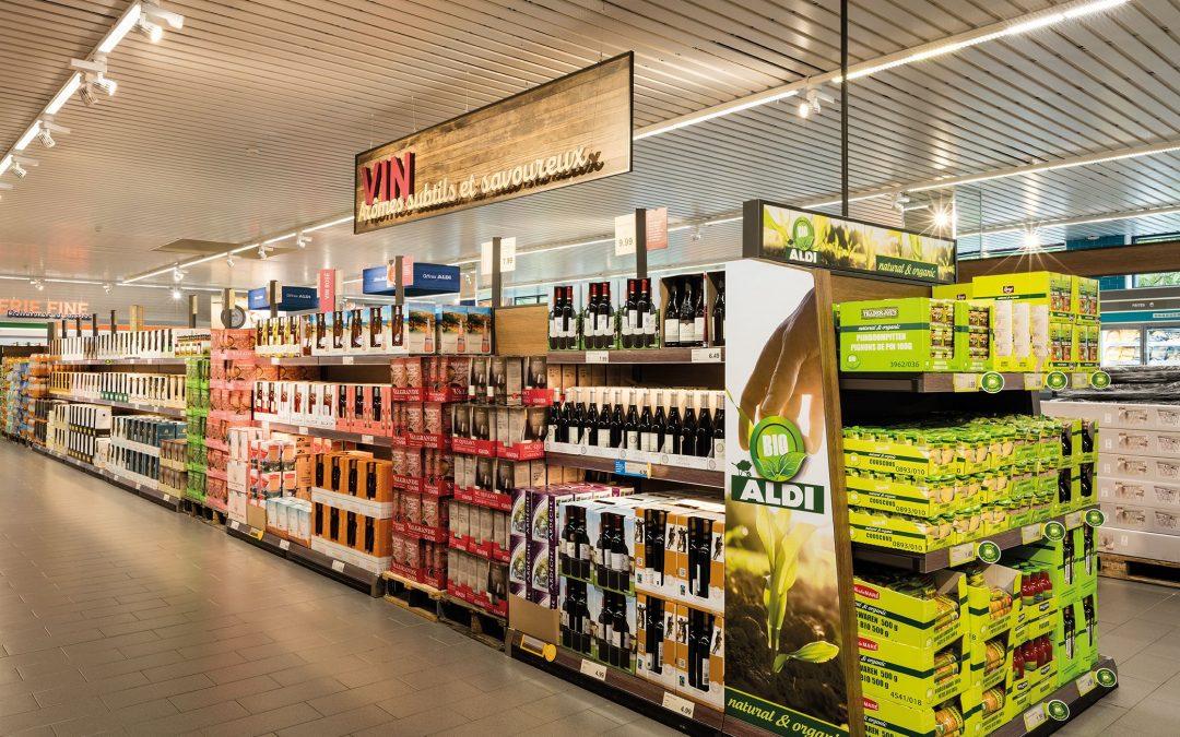 Un supermarché Aldi entièrement rénové à Wandre