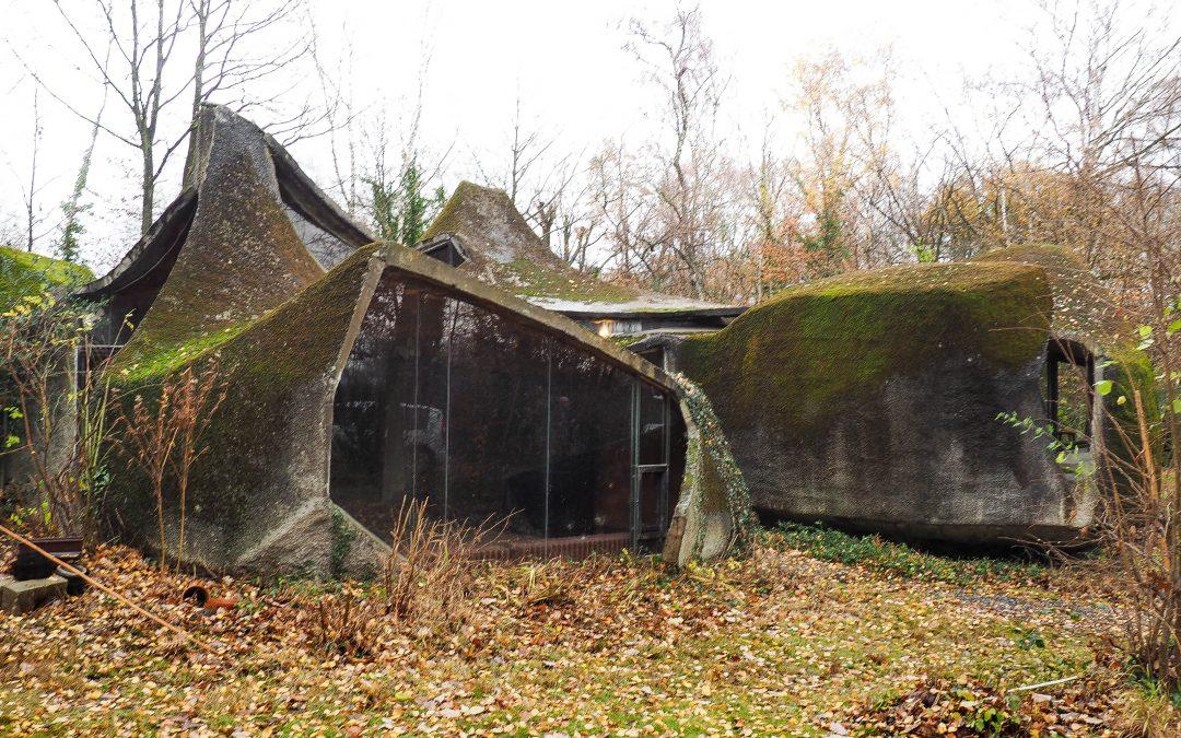 La maison-sculpture la plus originale de Liège rachetée par l'ingénieur qui a conçu la passerelle Boverie