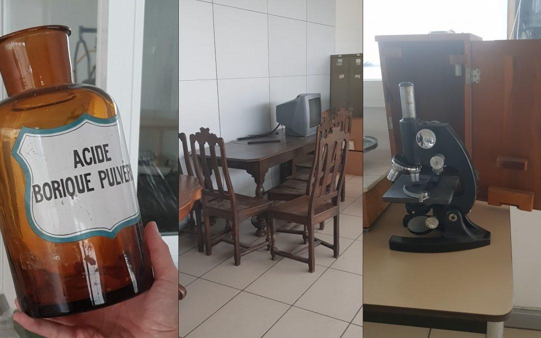 Lits, chariots, balances, microscopes… : on vend du matériel déclassé au CHR