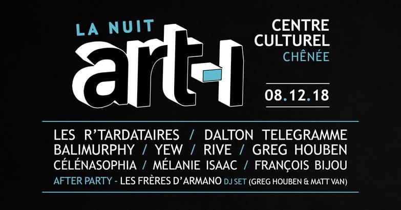 Agenda ► La Nuit ART-I