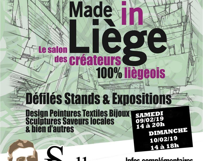 Agenda ► Made in Liège – Créateurs 100% liégeois