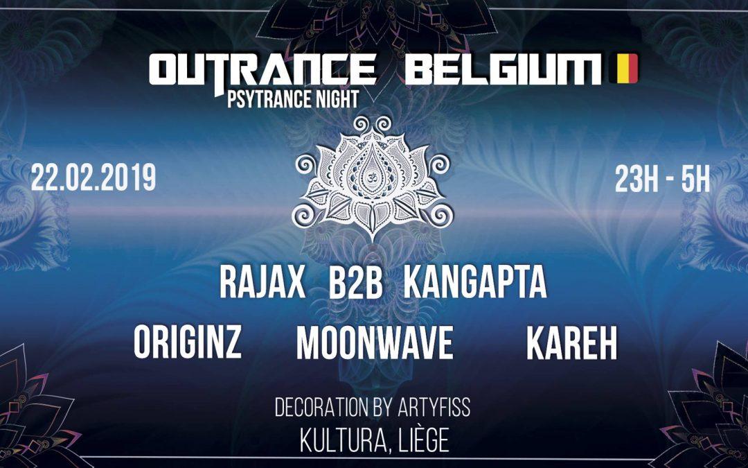 Agenda ► Outrance • Belgium ॐ Psytrance Night