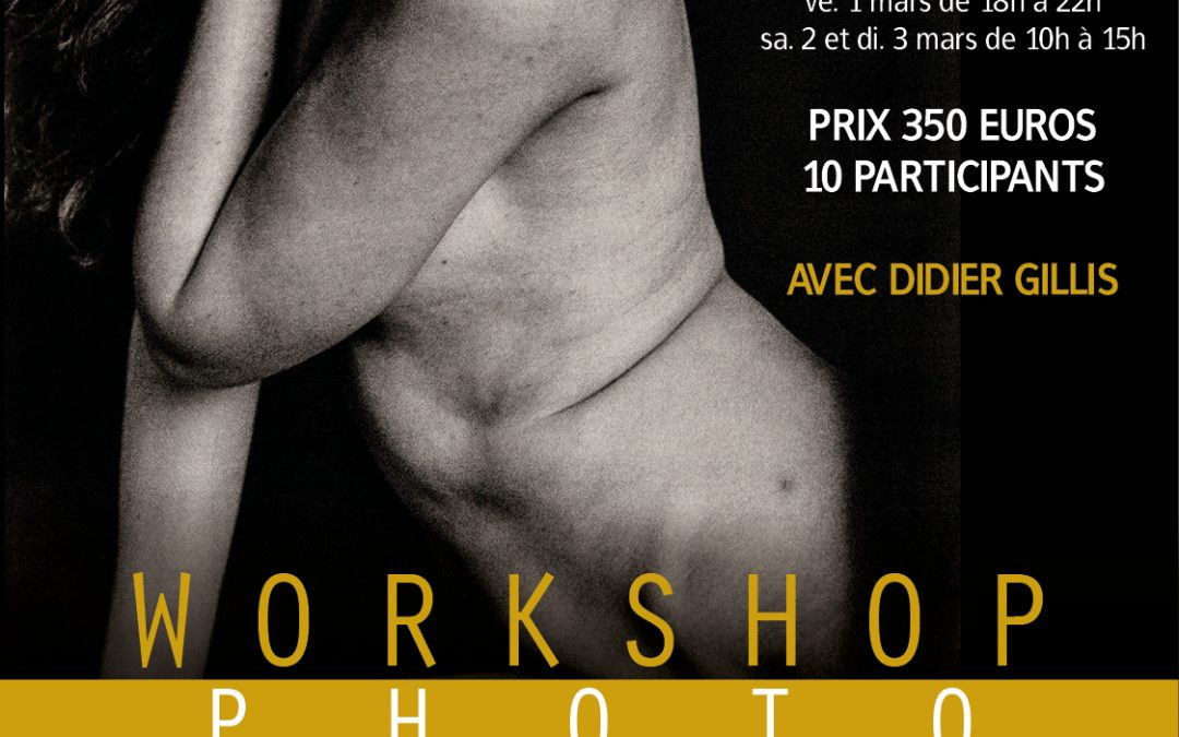 Agenda ► Workshop photo avec Didier Gillis