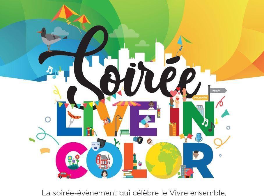 Agenda ► Soirée Live in Color