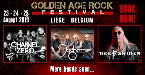 Agenda ► Golden Age Rock Festival