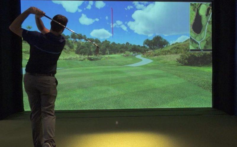 Nouveau: un simulateur de Golf Indoor à Liège