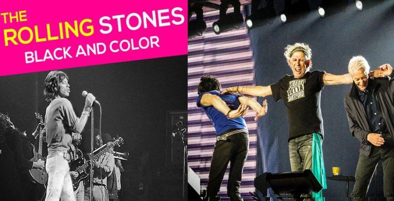 Une expo photo temporaire sur les Rolling Stones s'ajoute à  Generation 80 aux Guillemins