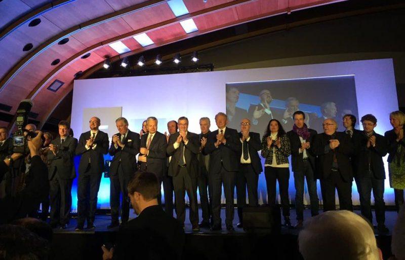 Deux syndicats fêteront le pot de départ du gouvernement aux voeux du MR à Liège