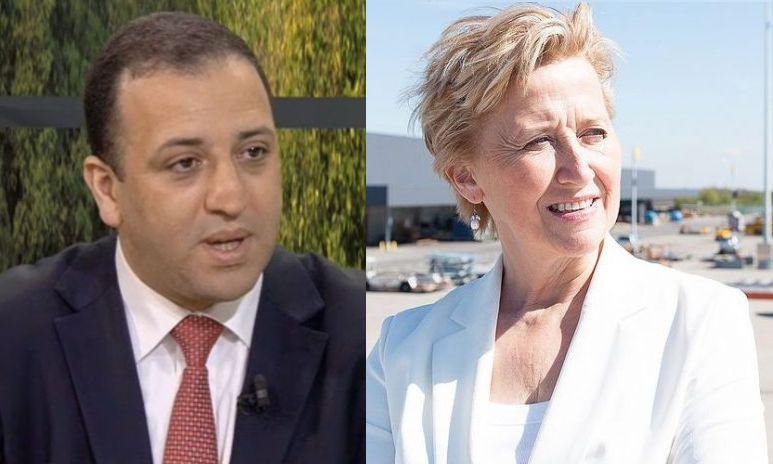 Marie-Dominique Simonet arrête la politique et Hassan Bousetta reprend du service