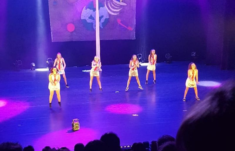 Grand concours de danse au Palais des Congrès