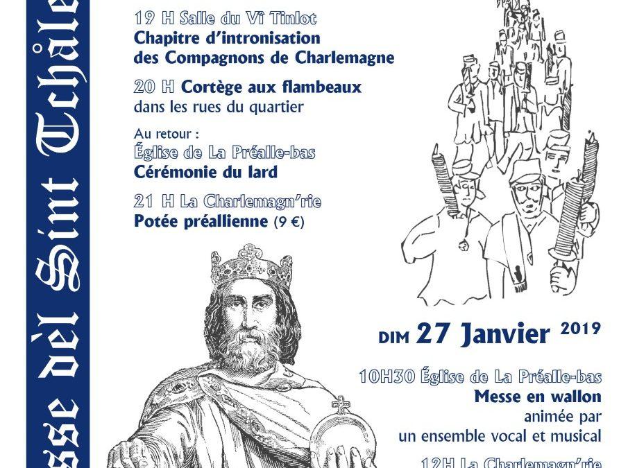 Agenda ► La Charlemagn'rie : 35e fièsse dèl Sint Tchåle