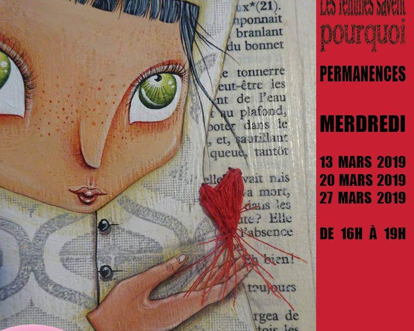 Agenda ► Exposition collective 'AU FÉMININ…'