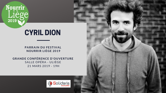 Agenda ► Grande Conférence de Cyril Dion