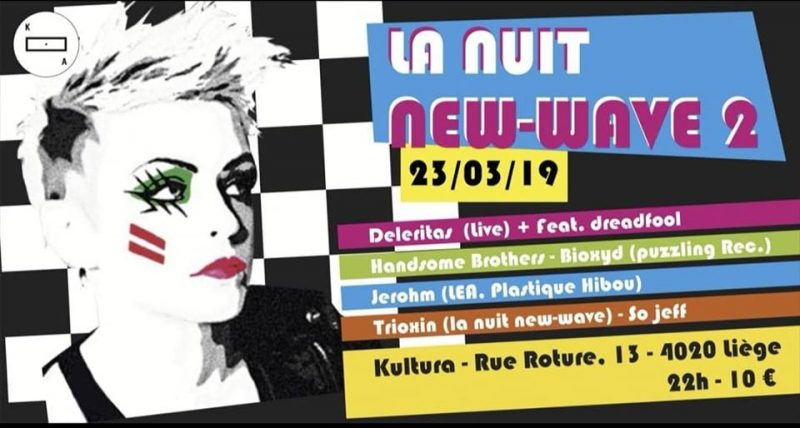 Agenda ► La Nuit New-Wave 2