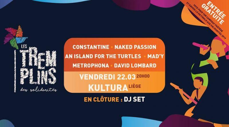 Agenda ► Demi-finale Tremplins des Solidarités x Kultura Liège