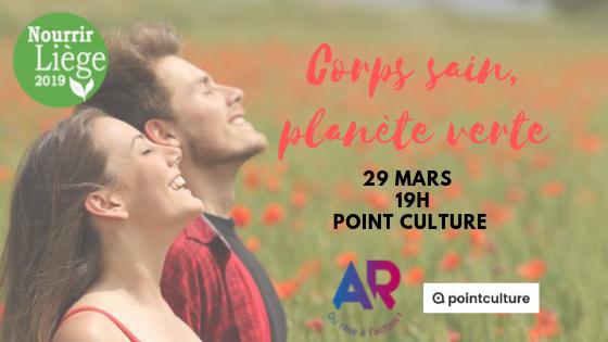 Agenda ► Corps sain, Planète verte – André Roberti