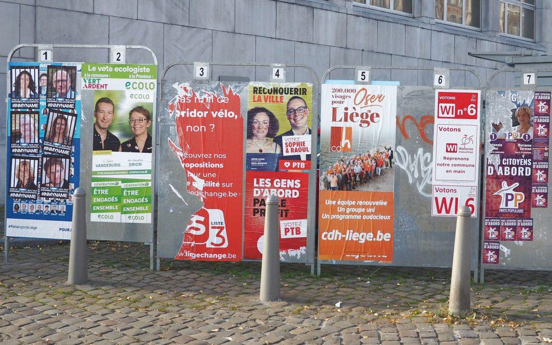 Les têtes de listes pour les élections du 26 mai sont presque toutes connues