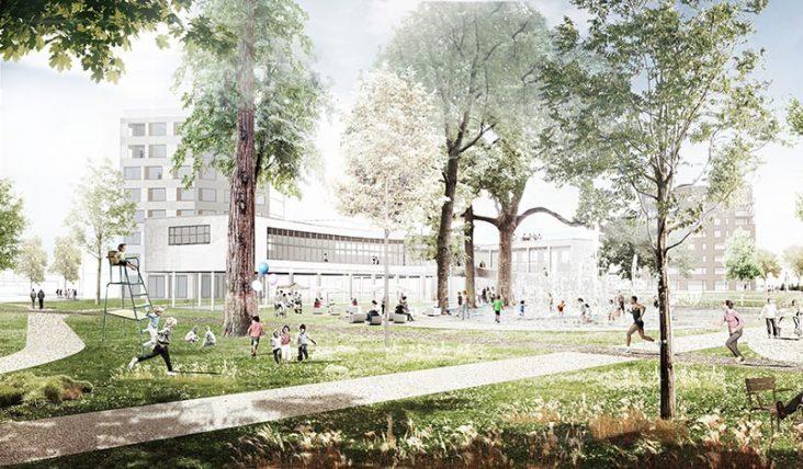 Le projet d'éco-quartier à Coronmeuse avance