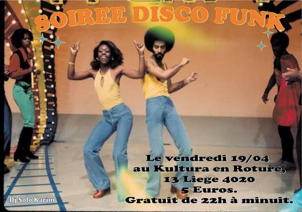 Agenda ► Soirée Disco Funk et Northen Soul