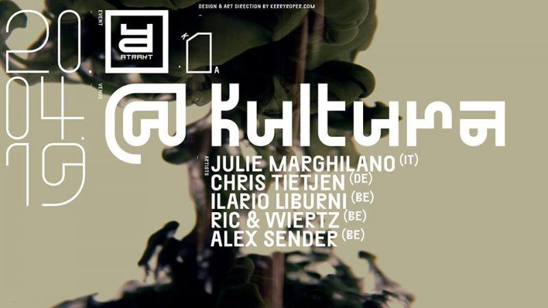 Agenda ► Atrakt invites Julie Marghilano, Chris Tietjen, Ilario Liburni