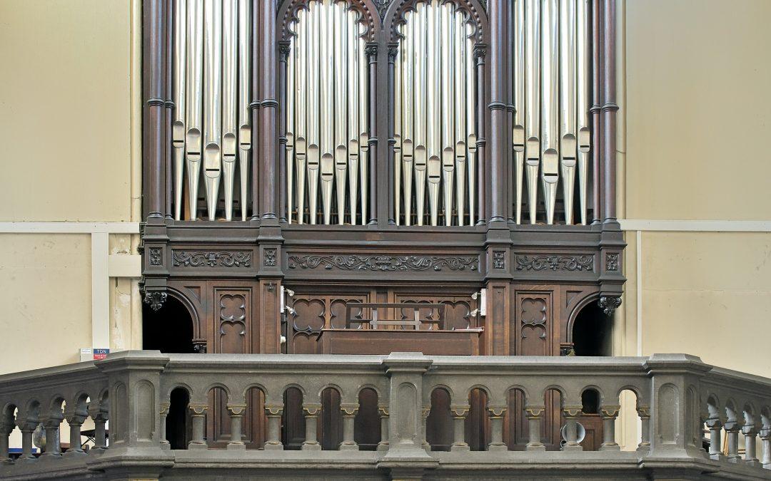 Agenda ► Visite guidée de l'orgue de l'église Ste-Marie-des-Anges à Liège. Sur rendez-vous