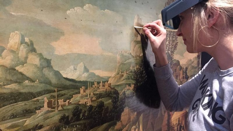 Agenda ► Atelier ouvert : la restauration de 'L'Exode de Jacob' de Cornelis Buys