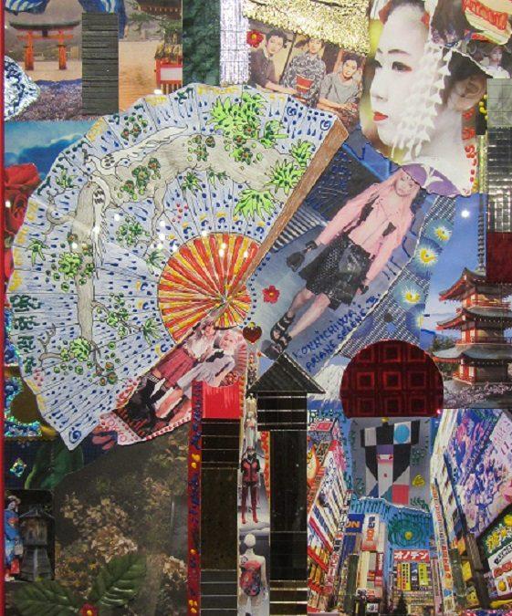 Agenda ► « Aux 4 coins du monde » – vernissage de l'exposition des collages d'Ariane Séléné