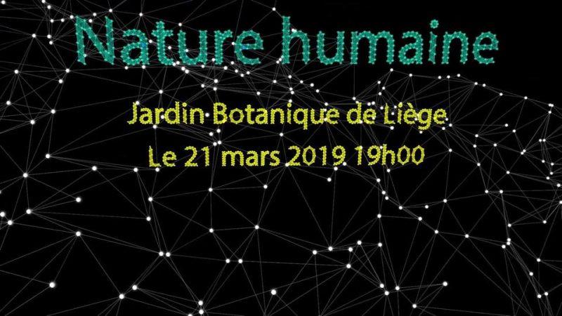Agenda ► Nature Humaine