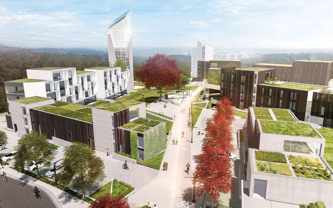 Nouveau projet immobilier tout près de la future clinique MontLégia