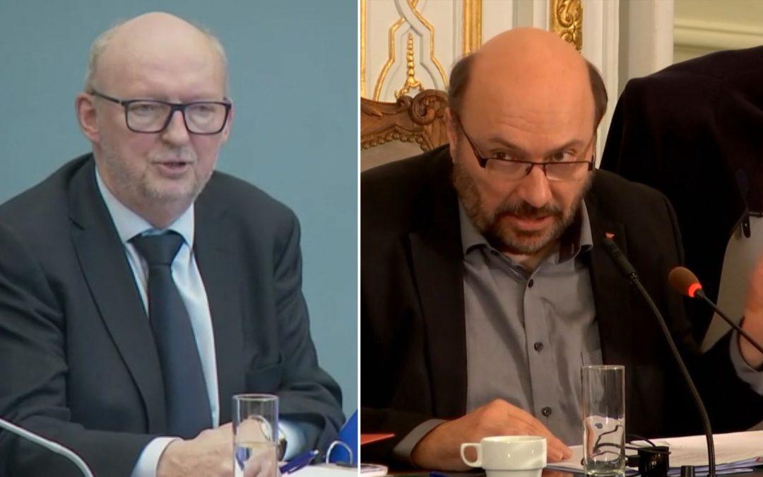 L'échevin Pierre Stassart et l'ex-député provincial Georges Pire jugés en correctionnelle pour l'affaire Publifin