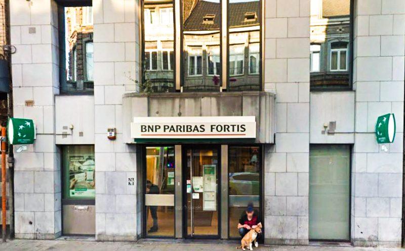 Fermeture de l'agence bancaire BNP Paribas d'Outremeuse