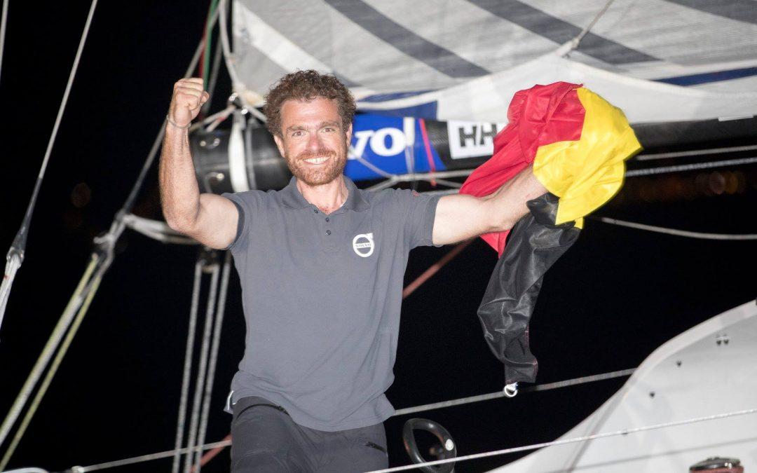 Le skipper liégeois Jonas Gerckens intronisé ambassadeur de la Province