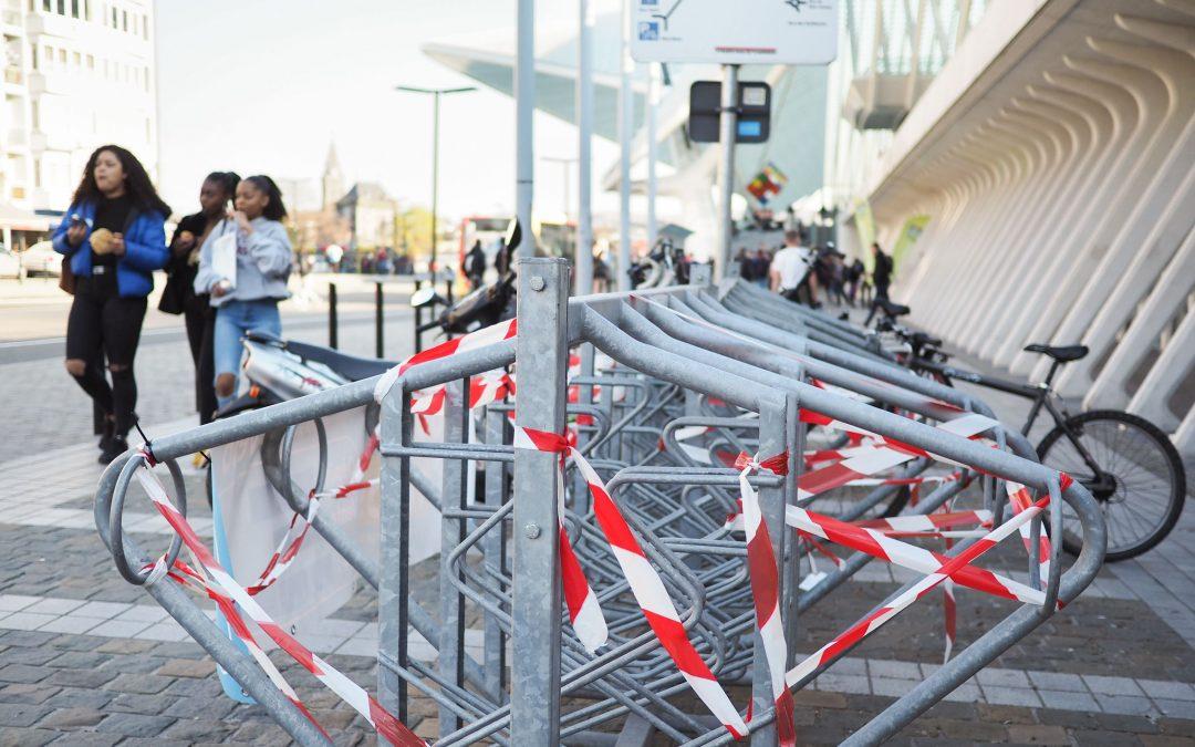 La SNCB doit faire machine arrière et supprimer 30 places de vélo aux Guillemins