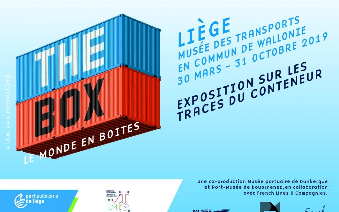 """Agenda ► Exposition """"The Box, le monde en boîte"""""""
