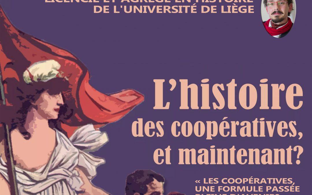 Agenda ► Apéro papote – L'histoire des coopératives, et maintenant ?