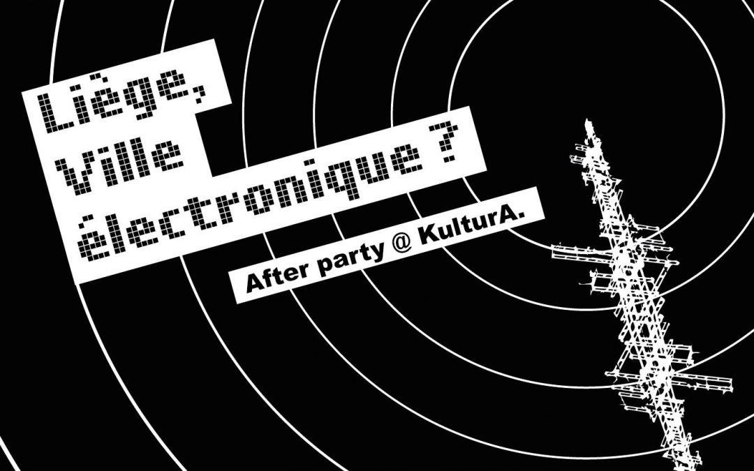 Agenda ► ▬▬ LEA x KOLLECTIF BUNKER Present ▬▬ ▲Liège, Ville Electronique ? AFTER PARTY▼