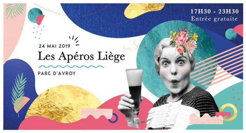 Agenda ► Les Apéros Liège // 24 mai // Parc d'Avroy //Lancement de saison