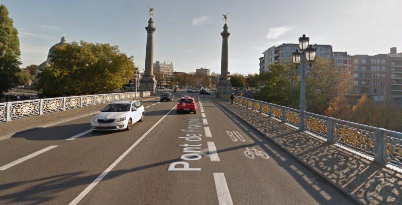 Le pont de Fragnée en travaux pour une semaine