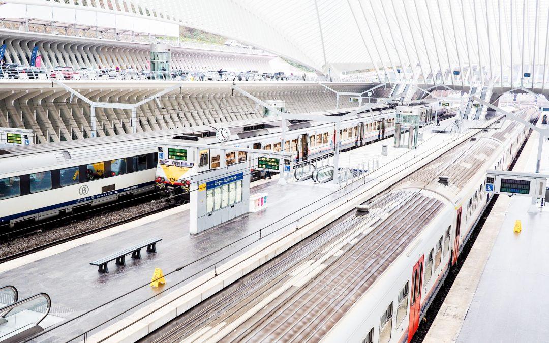 Liège-Guillemins est la 10e plus grande gare du pays
