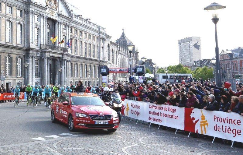 Liège-Bastogne-Liège c'est ce week-end avec une arrivée boulevard d'Avroy