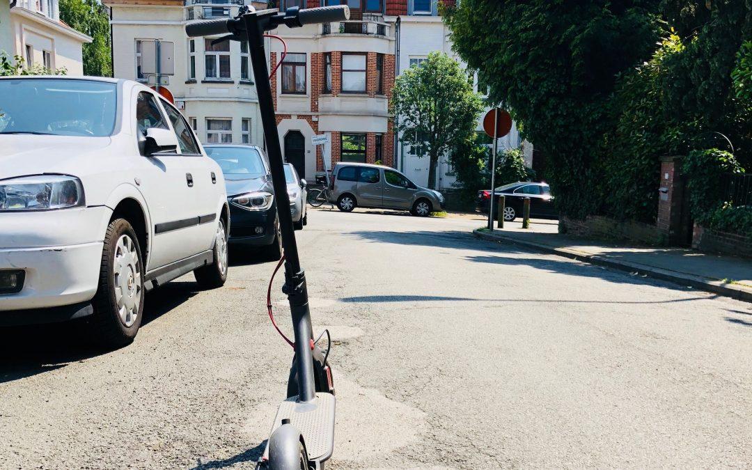 L'usage des trottinettes, segway et vélos électriques de location va être réglementé à Liège