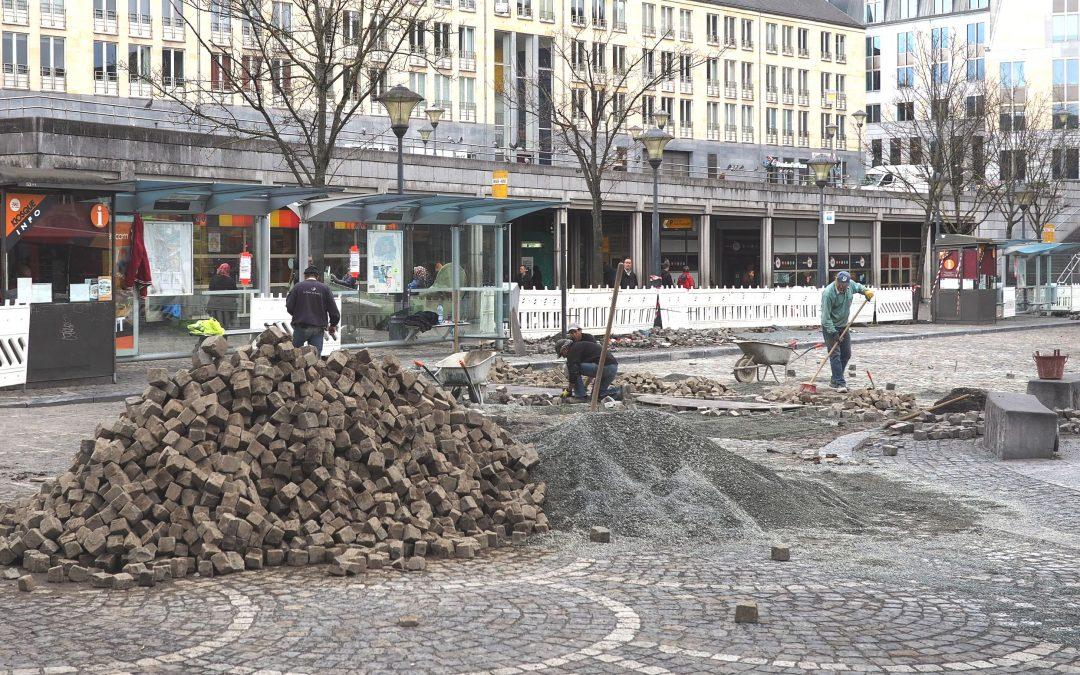 Grâce au Fric, 96 projets de travaux sont programmés dans les rues de Liège