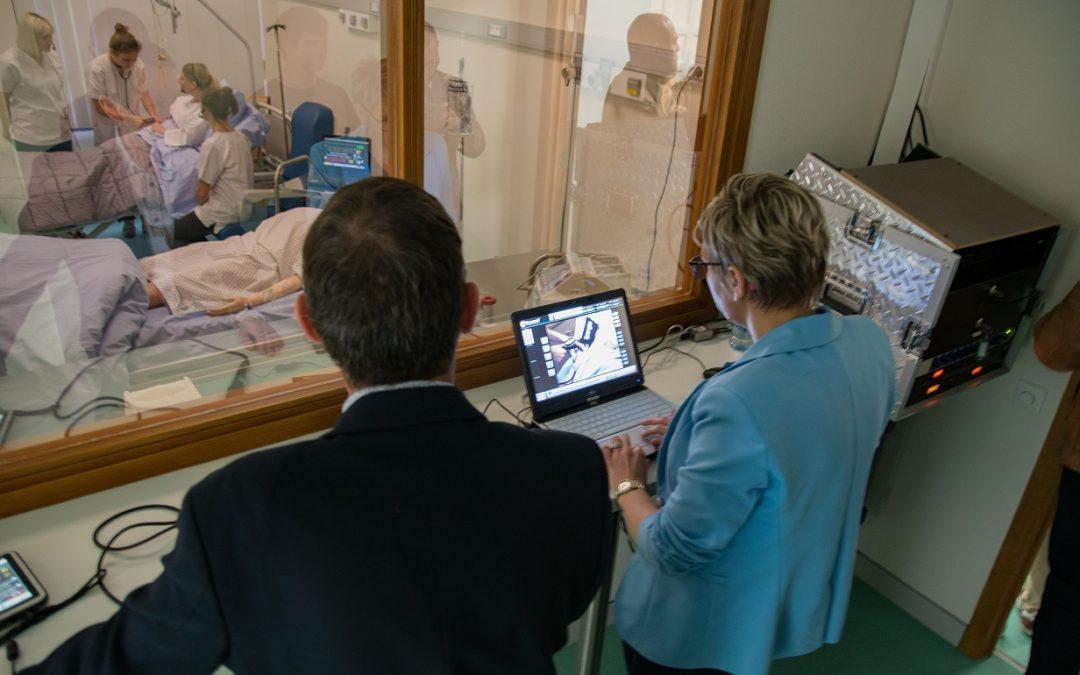 Un laboratoire de simulation clinique au Barbou